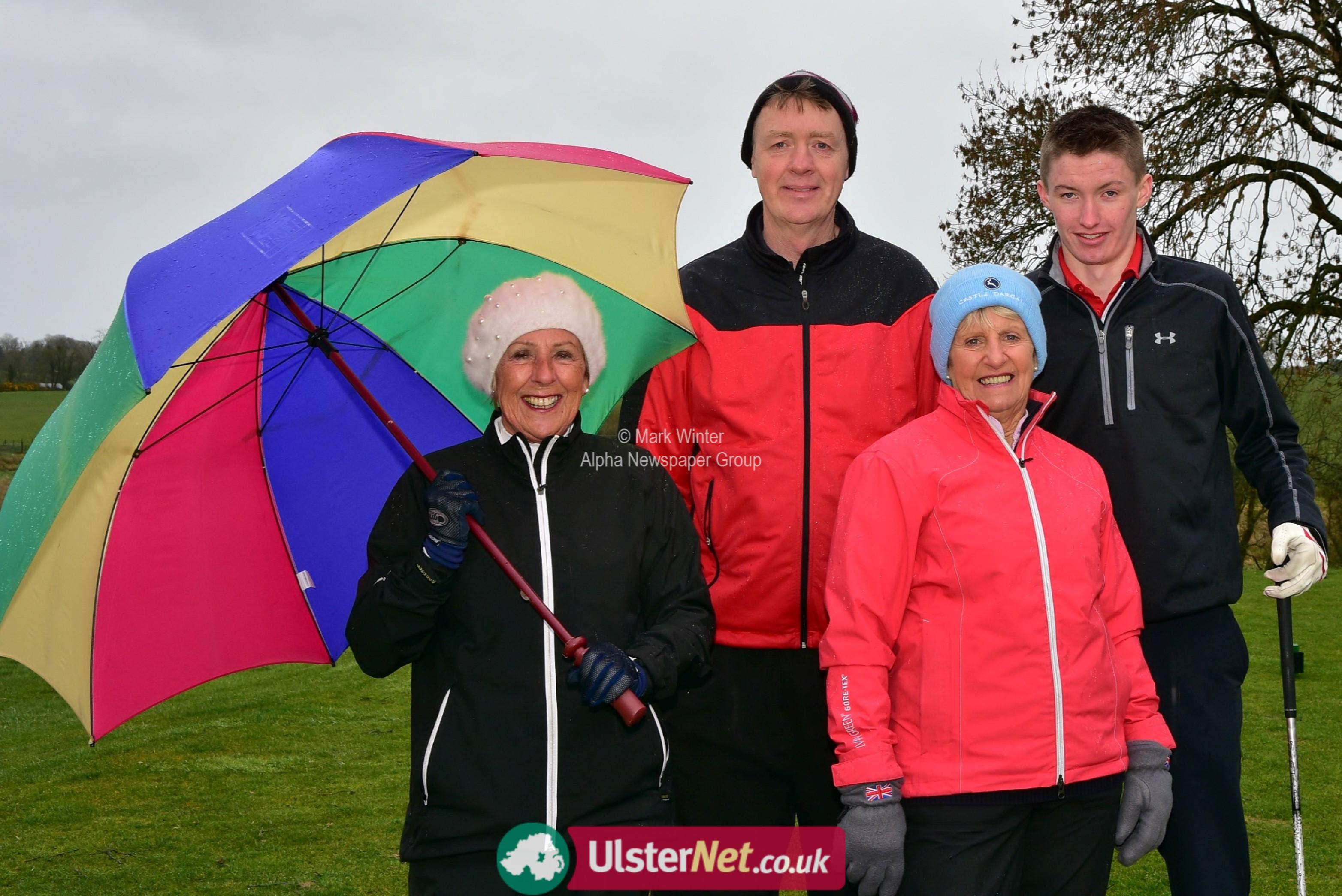 Rainy Golf