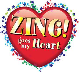 ZING goes my Heart Logo