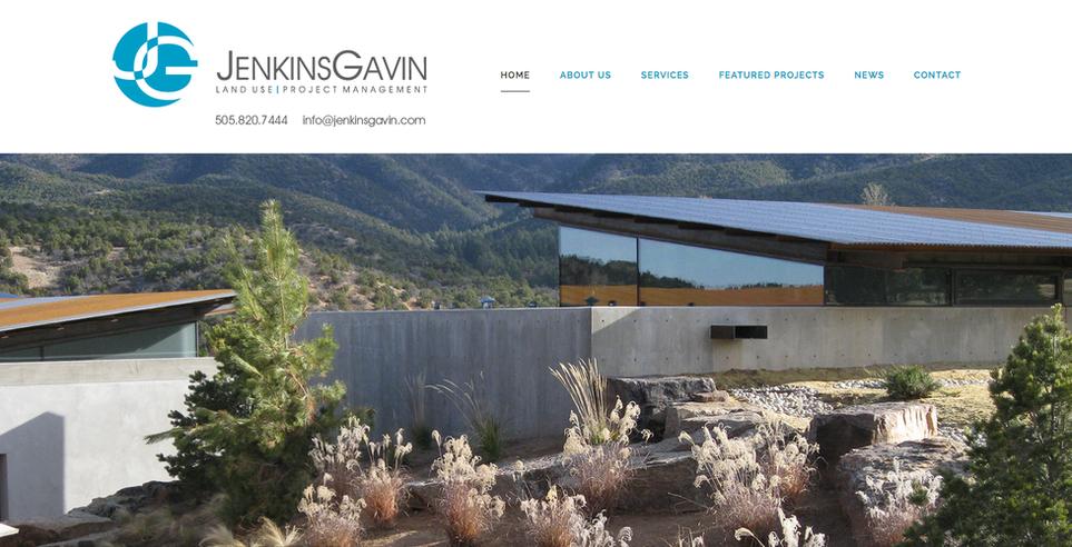 JenkinsGavin Website