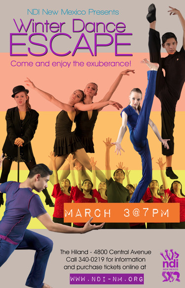 Dance Concert Poster