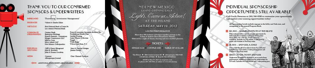 Albuquerque Hiland Gala Invitation