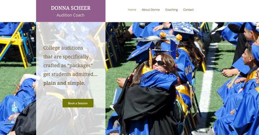Donna Scheer Website