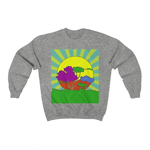 African Sunset Super Soft Sweatshirt