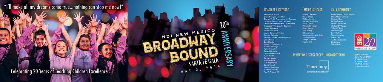 NDI New Mexico Gala Invitation