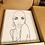 Thumbnail: Bald & Beautiful - 16X20 Pre Sketched Canvas