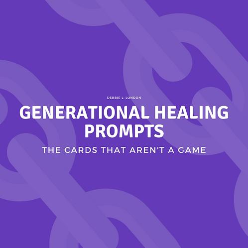 Generational Healing Cards