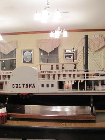 Sultana Model built by member Bill Grey