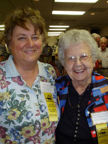 Pam Newhouse & Glenna Green 2010