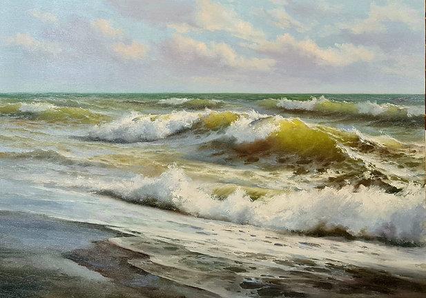 """Картина """"Живое море"""""""