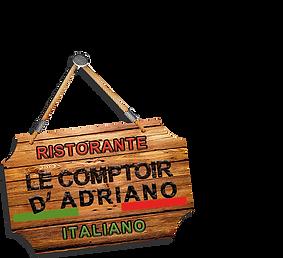 Logo du Comptoir d'Adriano
