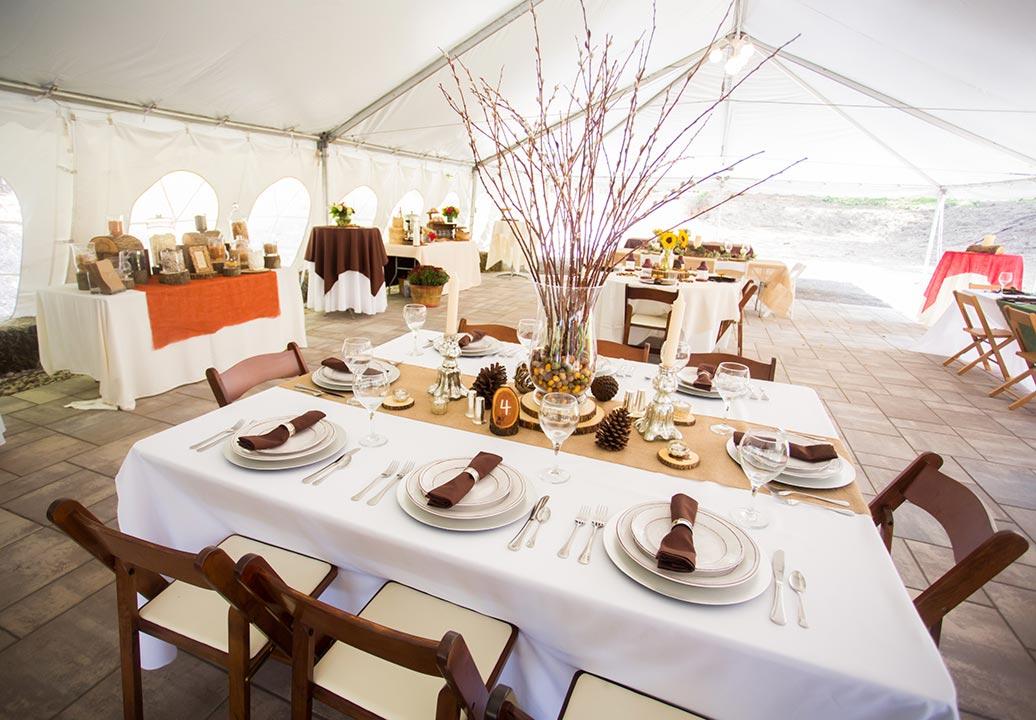 Rustic Themed Wedding