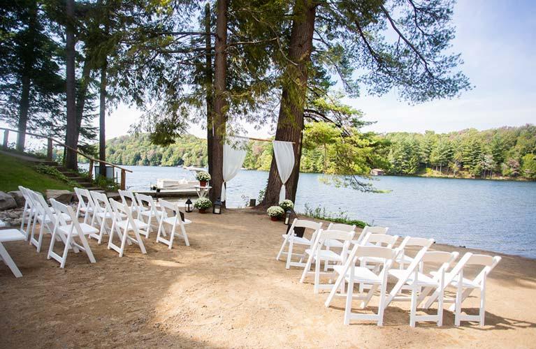 Outdoors Wedding in NY