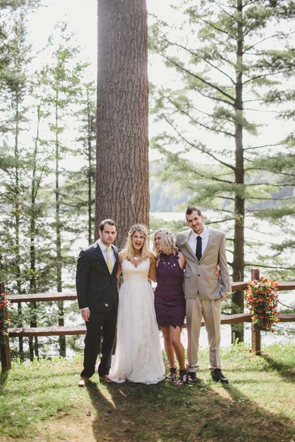 Wedding in Adirondack Mountains