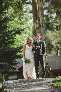 Getting Married in the woods