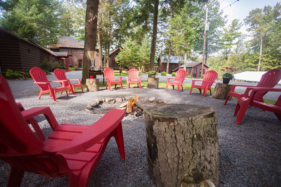 Fire Pit And Playground