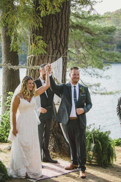 White Lake Wedding Reception