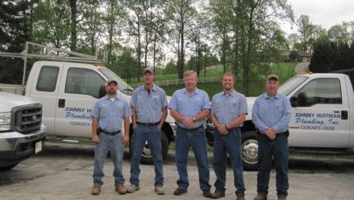 Johnny Huffman Plumbing Co. Inc. Crew