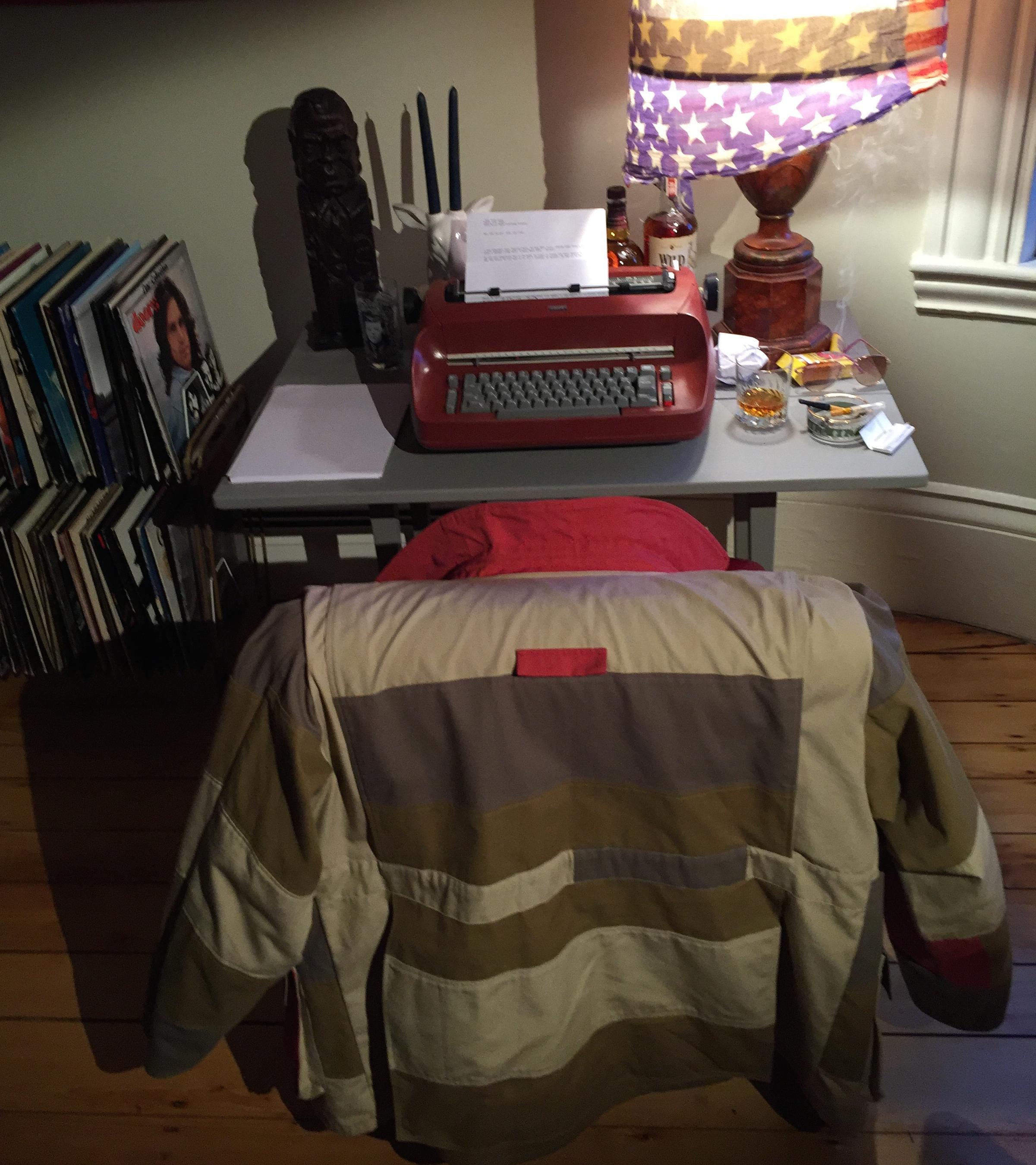 jacket Desk