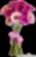 vernais bouquet fleur rose