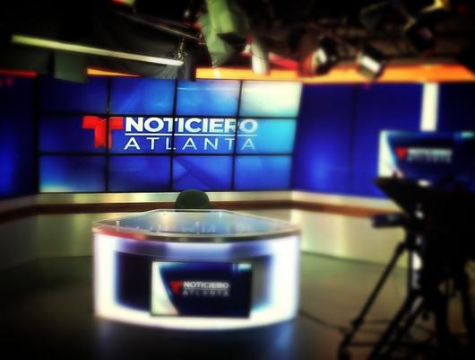 TELEMUNDO ATLANTA NEWS SET