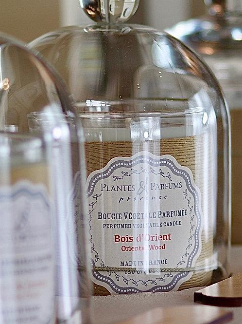 Bougie naturelle parfumée Bois d'orient