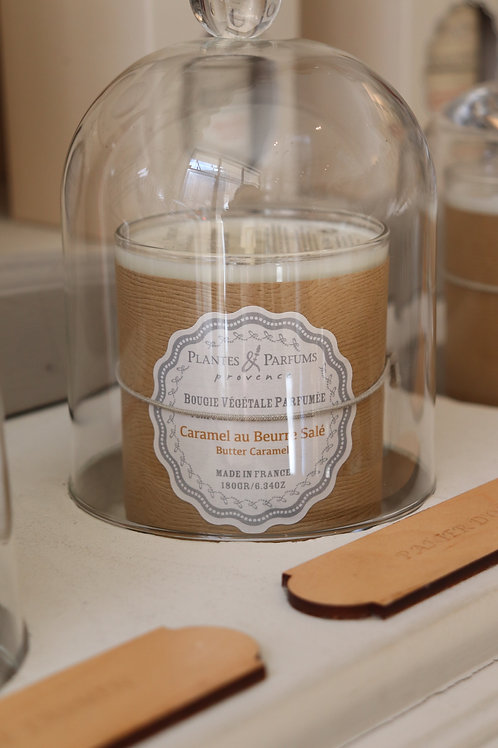 Bougie naturelle parfumée Caramel au beurre salé