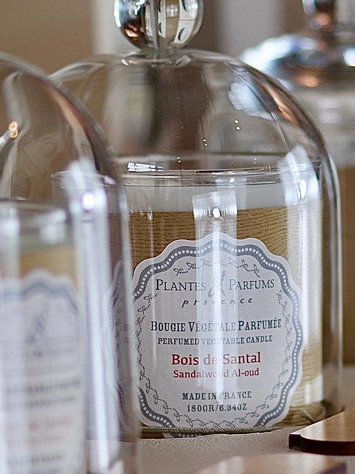 Bougie naturelle parfumée Bois de santal