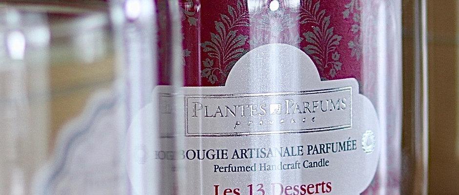 Bougie naturelle parfumée Les 13 desserts