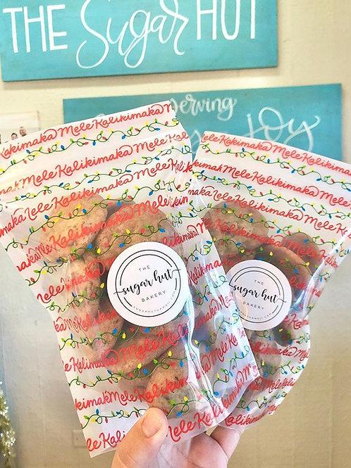 Mele Kalikimaka Cookie Bag