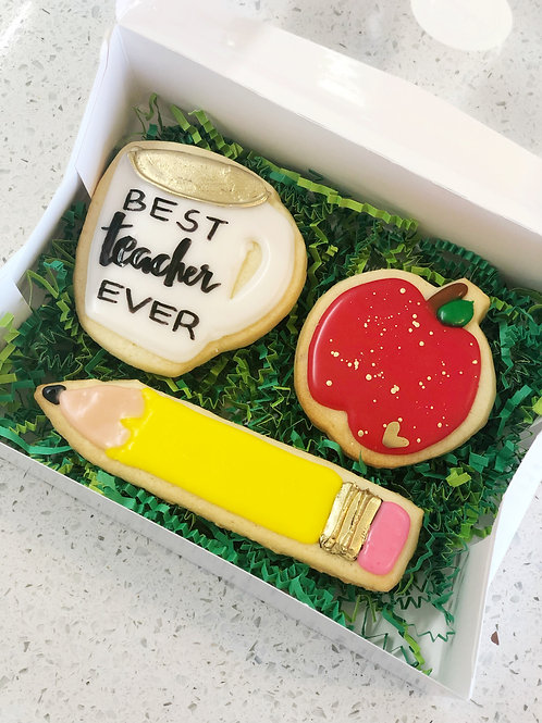 Teacher Cookie Set