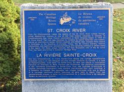 Canadian Heritage River Plaque