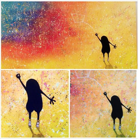 The little Dipper - 2017 (sold)
