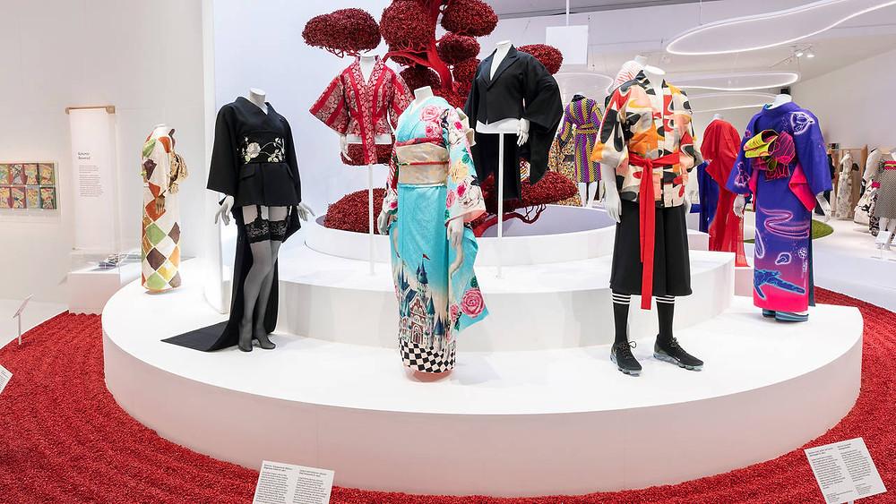 Kimono exhibiton