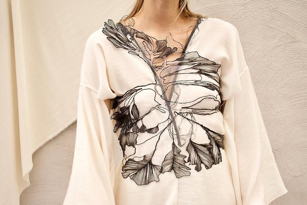 3D Fashion Tech Top 3D pen stephanie santos