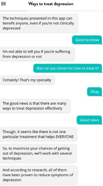 Flow depression app