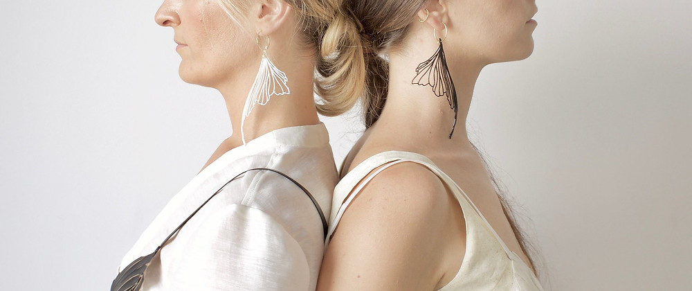 Stephanie Santos 3D Pen Butterfly Earrings