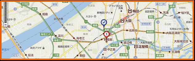 くじらや 焼肉 福島店 地図