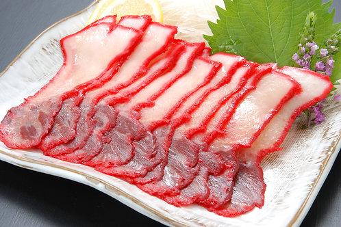 ヒゲ鯨皮須ベーコンスライス 100g