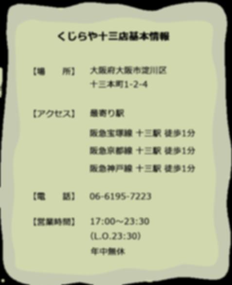 くじら焼肉福島店 2号店 基本情報