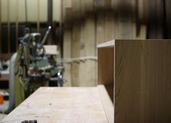テレビボードの製作。