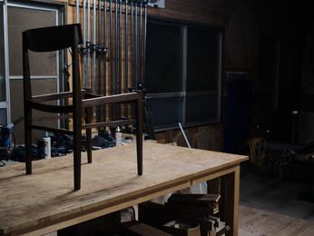 棟梁の椅子。