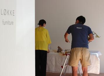 撮影スタジオとして。