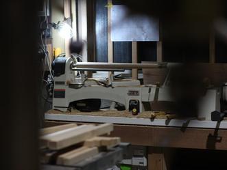 木工旋盤。