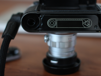 フィルムカメラ。