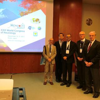 XXIII World Federation of Neurology Congress, Kyoto, Japan (Sept. 17, 2017)