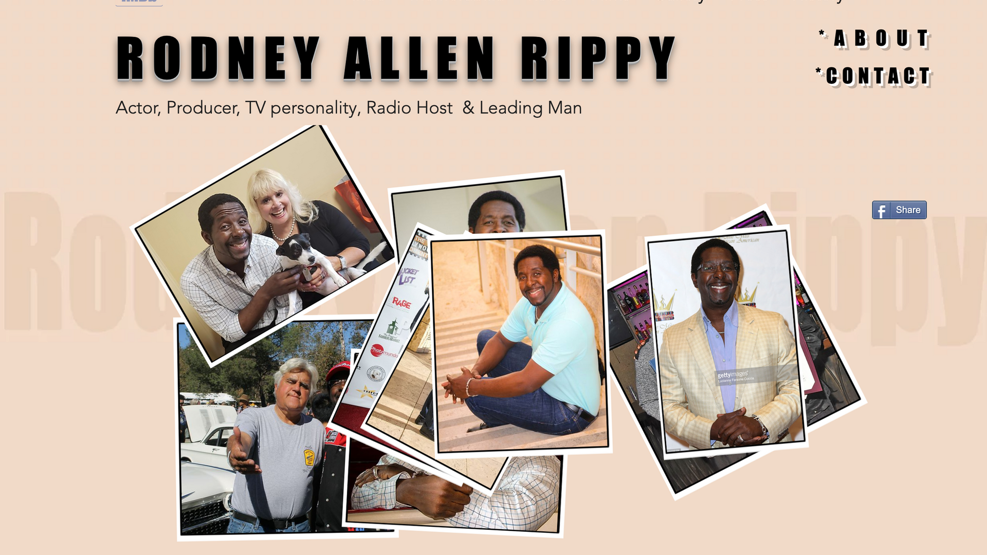 PROJECT:  Rodney Allen Rippy, official website