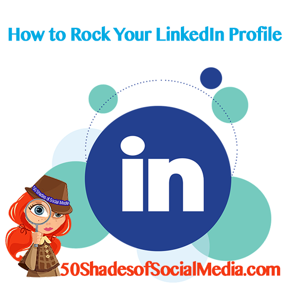 Infographics - how to improve LinkedIn profile