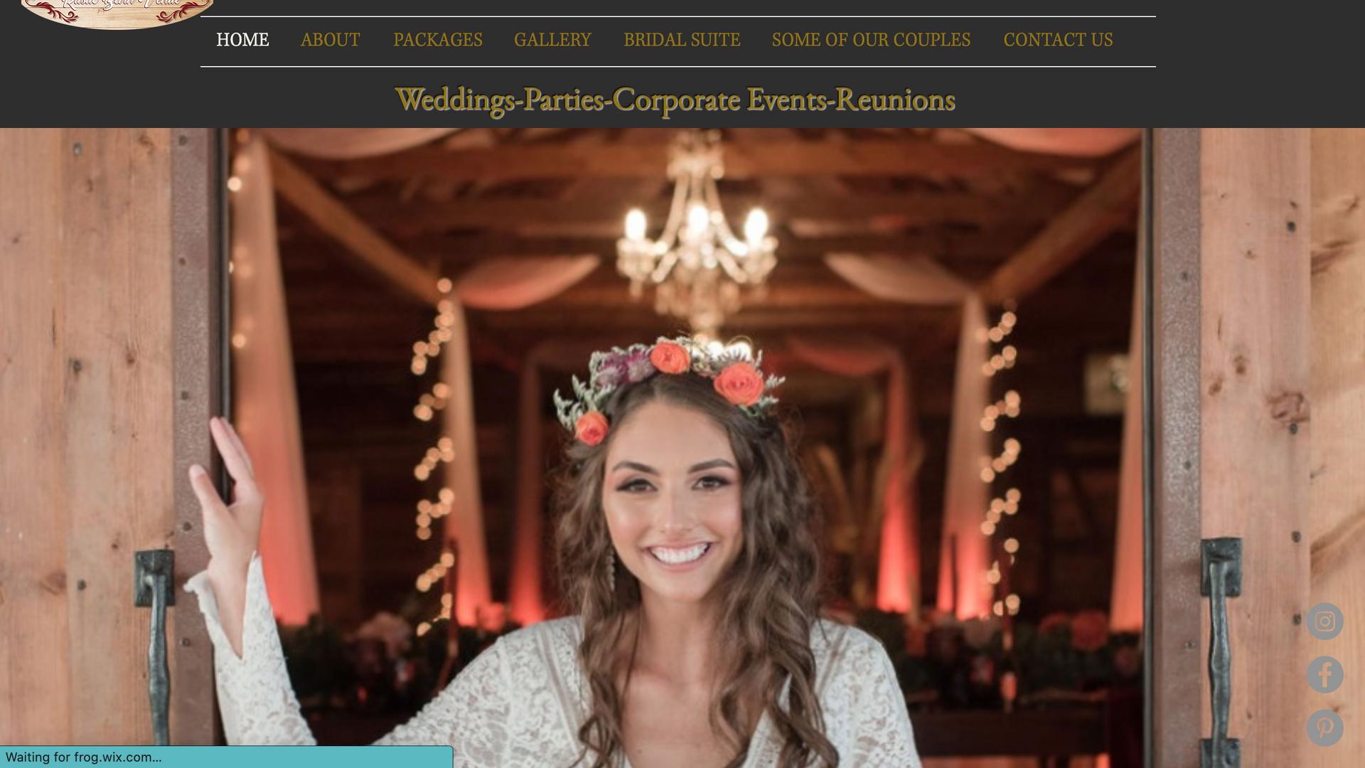 PROJECT:  WEDDING VENUE