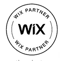 WIX Partner Badge black and white colors