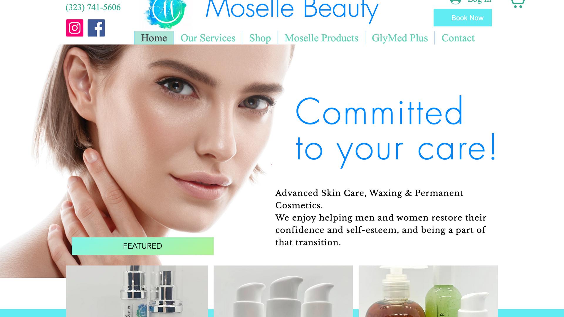 PROJECT: Mosele Beauty